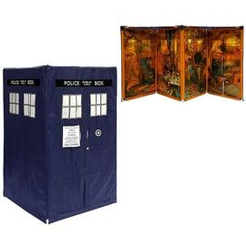 Doctor Who - Expandable TARDIS Tent