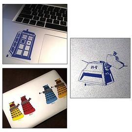 Doctor Who - Set 1 Clear Vinyl Sticker 6-Pack