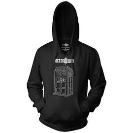 Doctor Who - Tardis Hooded Sweatshirt