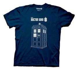 Doctor Who - Linear TARDIS T-Shirt