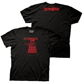 Doctor Who - Red Dalek Exterminate T-Shirt