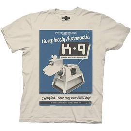 Doctor Who - K-9 Advertisement Tan T-Shirt