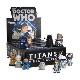 Doctor Who - Titans Series 2 Vinyl Figure Display Box