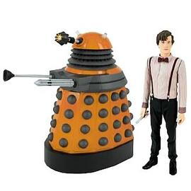 Doctor Who - Eleventh Doctor and Dalek Scientist Figures