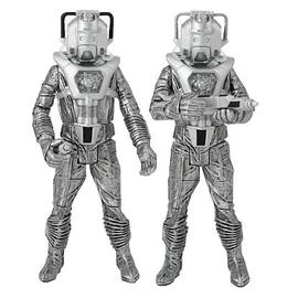 Doctor Who - Cyberleader and Cyberman Silver Nemesis Figures