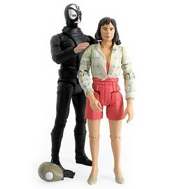 Doctor Who - Caves of Androzani Peri and Sharaz Jek Figures