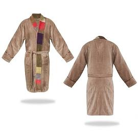 Doctor Who - Tom Baker Retro Beige Cotton Bath Robe