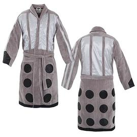 Doctor Who - Silver Dalek Cotton Bathrobe