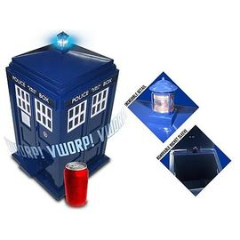 Doctor Who - TARDIS Light and Sound Effect Flip-Top Trash Can