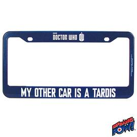 Doctor Who - My Other Car Is A TARDIS License Frame - Modern
