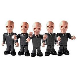 Doctor Who - Silent Army Character Building Figure 5-Pack