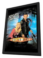 Doctor Who (TV) - 27 x 40 TV Poster - Style A - in Deluxe Wood Frame