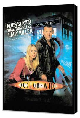 Doctor Who (TV) - 27 x 40 TV Poster - Style A - Museum Wrapped Canvas