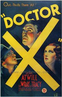 Doctor X - 43 x 62 Movie Poster - Bus Shelter Style A