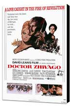 Doctor Zhivago - 27 x 40 Movie Poster - Style A - Museum Wrapped Canvas