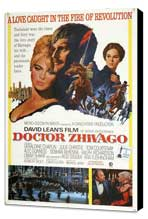 Doctor Zhivago - 27 x 40 Movie Poster - Style B - Museum Wrapped Canvas