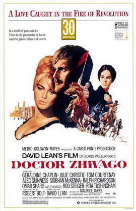 Doctor Zhivago - 11 x 17 Movie Poster - Style B