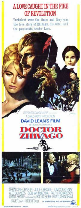 Doctor Zhivago - 14 x 36 Movie Poster - Insert Style A