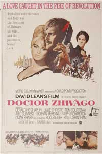 Doctor Zhivago - 43 x 62 Movie Poster - Bus Shelter Style A