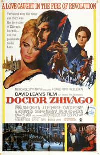 Doctor Zhivago - 43 x 62 Movie Poster - Bus Shelter Style B