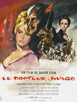 Doctor Zhivago - 27 x 40 Movie Poster - French Style A