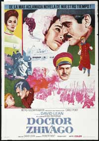Doctor Zhivago - 43 x 62 Movie Poster - Spanish Style A