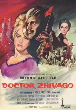 Doctor Zhivago - 27 x 40 Movie Poster - Spanish Style C