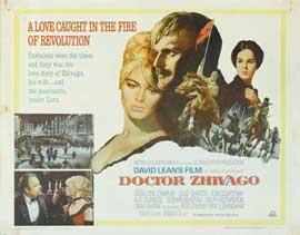 Doctor Zhivago - 11 x 14 Movie Poster - Style I