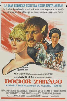 Doctor Zhivago - 27 x 40 Movie Poster - Spanish Style D
