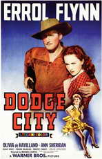 Dodge City - 11 x 17 Movie Poster - Style A