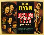 Dodge City - 11 x 17 Movie Poster - Style E