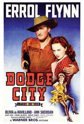 Dodge City - 27 x 40 Movie Poster - Style A
