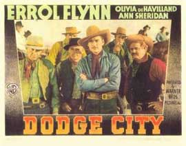 Dodge City - 11 x 14 Movie Poster - Style A