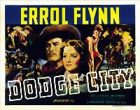 Dodge City - 27 x 40 Movie Poster - Style B