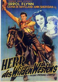 Dodge City - 11 x 17 Movie Poster - German Style A