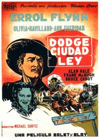 Dodge City - 11 x 17 Movie Poster - Spanish Style B