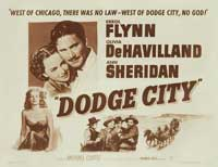 Dodge City - 11 x 14 Movie Poster - Style C