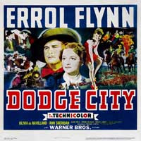 Dodge City - 30 x 30 Movie Poster - Style A