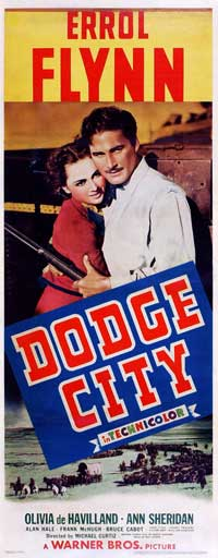 Dodge City - 14 x 36 Movie Poster - Insert Style A