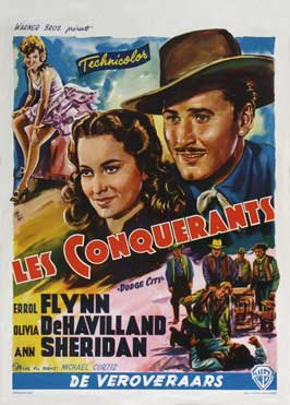 Dodge City - 27 x 40 Movie Poster - Belgian Style A