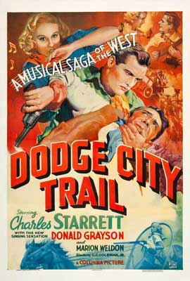 Dodge City Trail - 11 x 17 Movie Poster - Style A