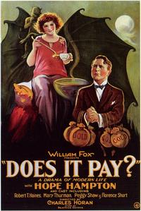 Does it Pay? - 11 x 17 Movie Poster - Style A