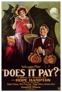 Does it Pay? - 27 x 40 Movie Poster - Style A