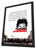 Dog Day Afternoon - 11 x 17 Movie Poster - Style D - in Deluxe Wood Frame