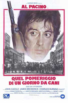 Dog Day Afternoon - 11 x 17 Movie Poster - Italian Style A