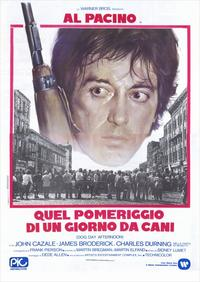 Dog Day Afternoon - 39 x 55 Movie Poster - Italian Style A