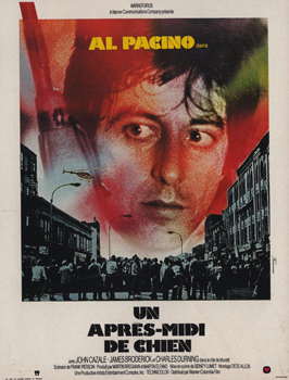 Dog Day Afternoon - 11 x 17 Movie Poster - French Style A