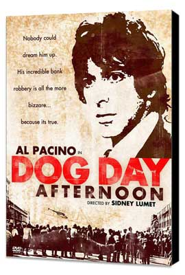 Dog Day Afternoon - 27 x 40 Movie Poster - Style E - Museum Wrapped Canvas
