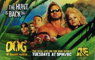 Dog the Bounty Hunter (TV) - 11 x 17 TV Poster - Style A