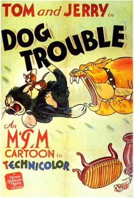 Dog Trouble - 27 x 40 Movie Poster - Style A